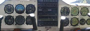 Piper Pacer Controls