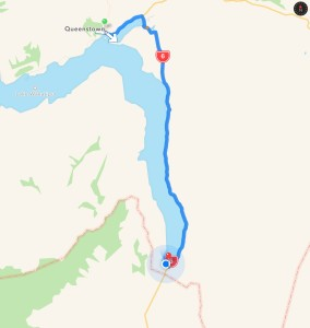 Queenstown to Kingston Township
